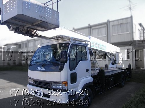 Автовышка 28-32 метра Isuzu Forward