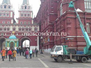 Автовышка на Красной Площади