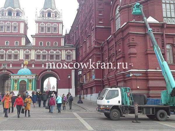 Автовышки Moscowkran