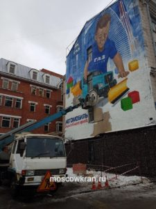 Украшение фасада здания