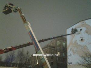 две автовышки в Москве