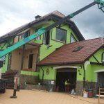 Частный дом , работы по крыше