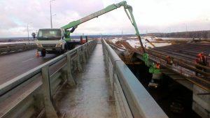Мостовая автовышка