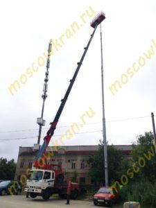 32 метровая телескопическая автовышка