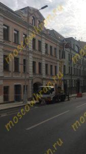 Автовышка в Москве