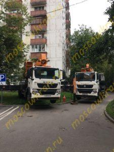 Две автовышки Hovo 45 и 50 м