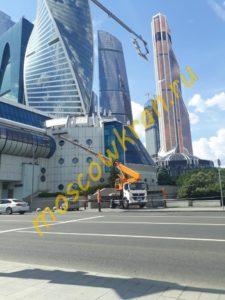 Работы на Кутузовском Проспекте