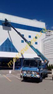 Телескопическая вышка 32 метра