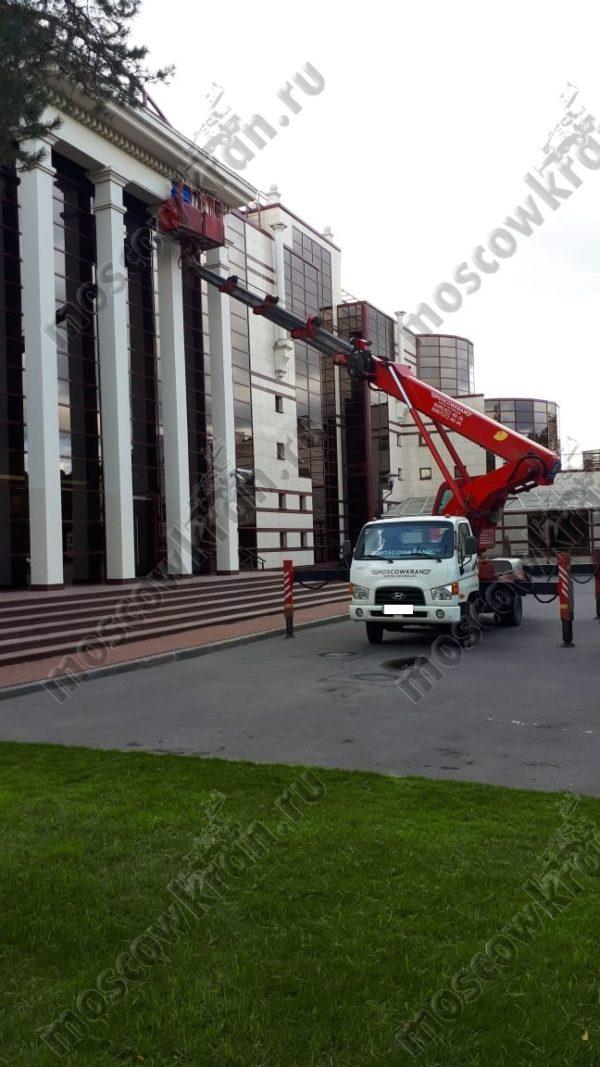 28 метров телескопическая автовышка Хендай